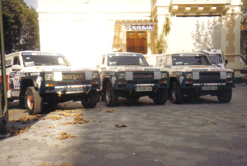 Le PATROL de Mon père DAKAR 1986 & 1987 R_phar13