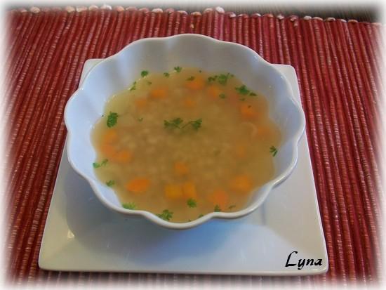 Soupe poulet et orge Soupe_10