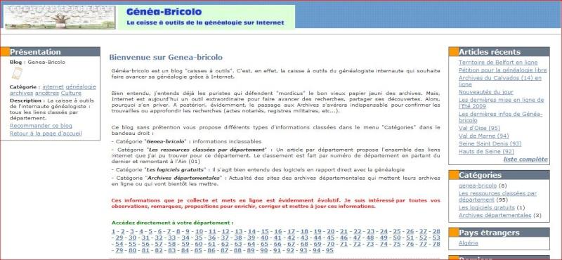 Généa - Bricolo recense les ressources disponibles sur Internet Genea-11