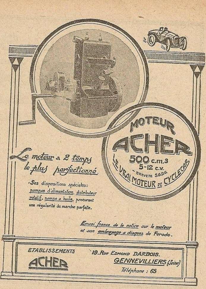 Moteur de cyclecar et voiturette - Page 6 Acher_10