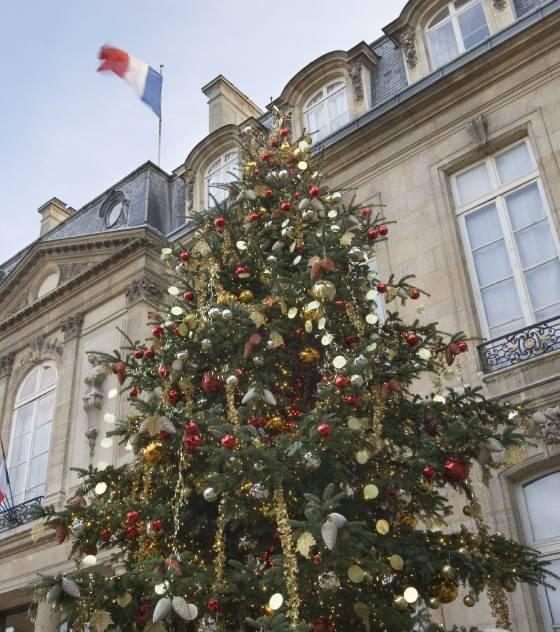 découvrez le sapin de Noël 2009 de l'Elysée Le-sap10