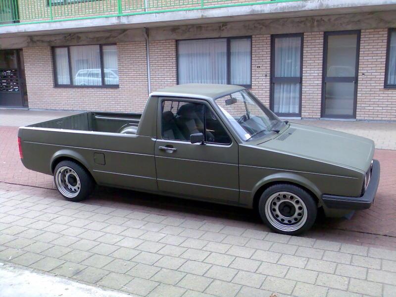 [ VW ] GOLF CADDY pick up / tolé 07120110