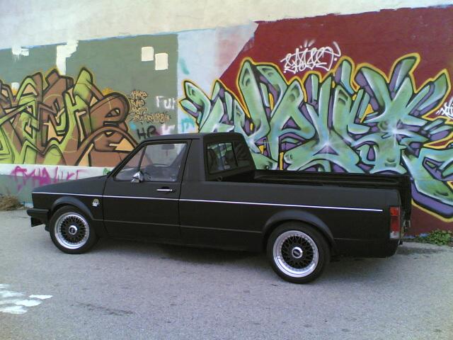 [ VW ] GOLF CADDY pick up / tolé 12112010
