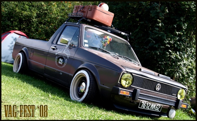 [ VW ] GOLF CADDY pick up / tolé 20080811