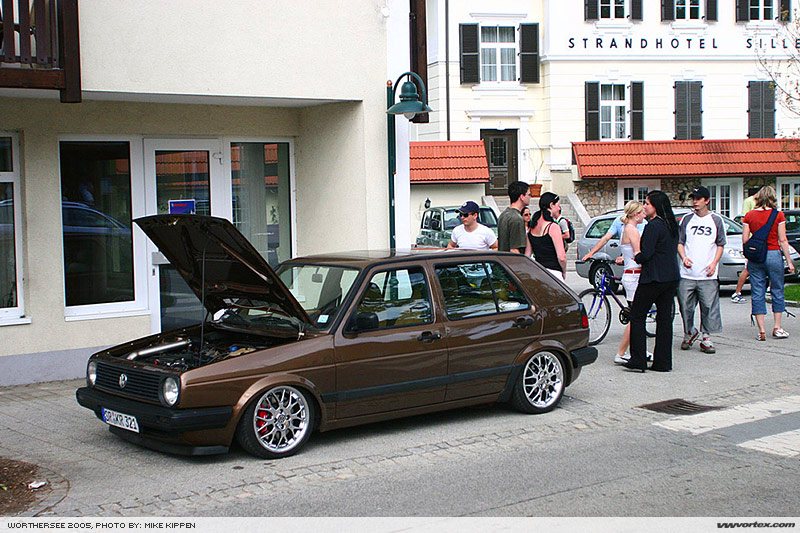 [ VW ] GOLF MK2 Brown410