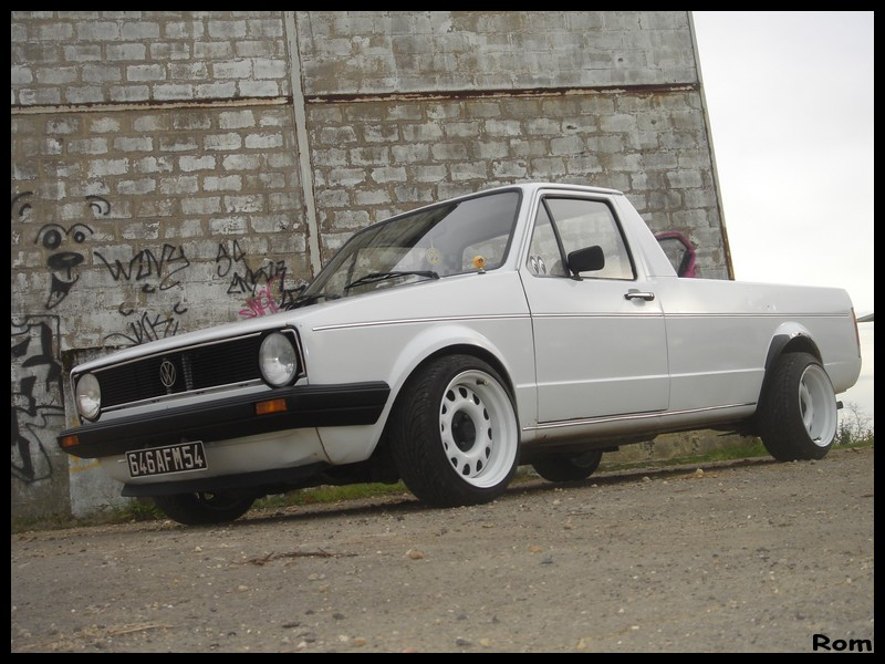 [ VW ] GOLF CADDY pick up / tolé Caddy_10