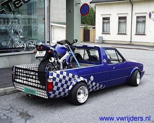 [ VW ] GOLF CADDY pick up / tolé Caddym10
