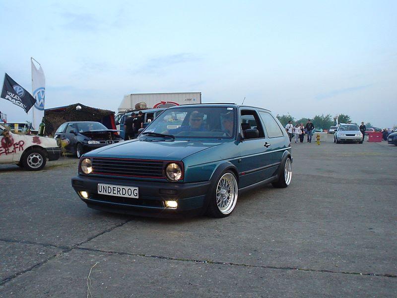 [ VW ] GOLF MK2 Dsc01011