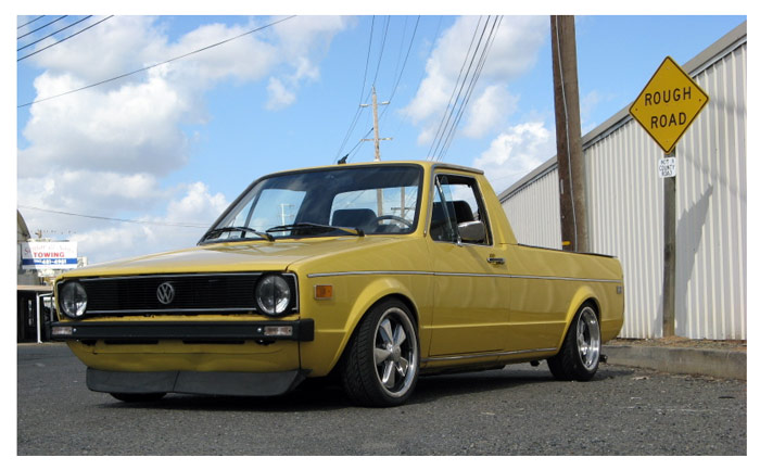 [ VW ] GOLF CADDY pick up / tolé Dyn00112