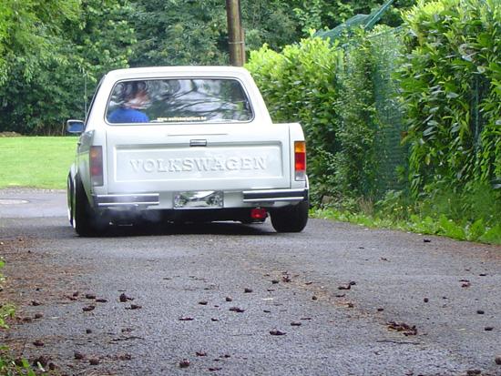 [ VW ] GOLF CADDY pick up / tolé Dyn00220