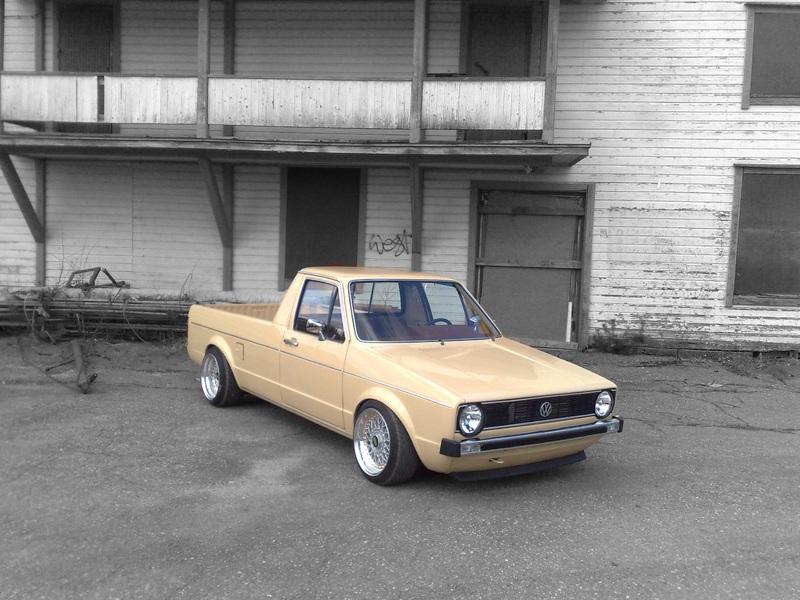 [ VW ] GOLF CADDY pick up / tolé Dyn01012