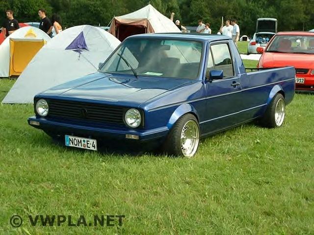 [ VW ] GOLF CADDY pick up / tolé Ederse10