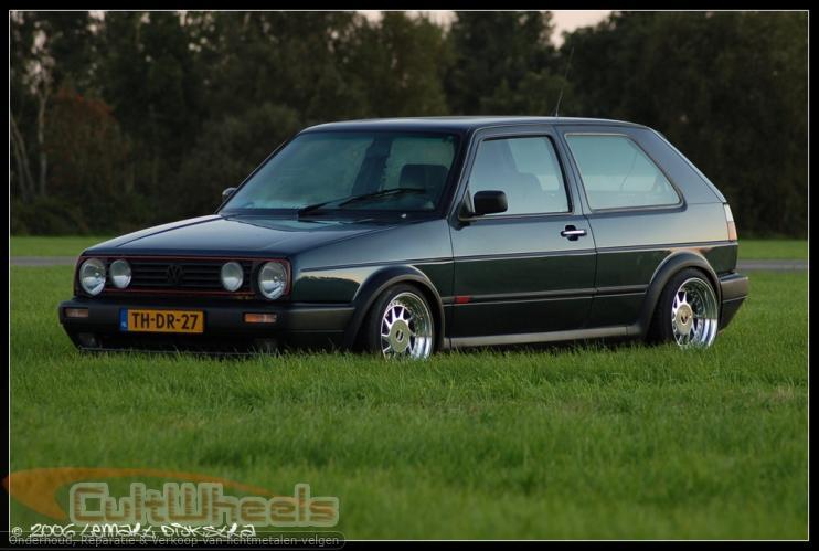 [ VW ] GOLF MK2 Fotoga10