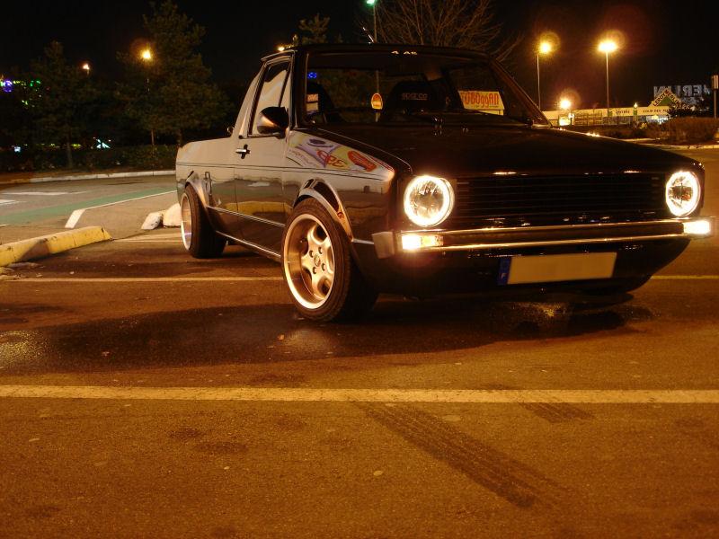 [ VW ] GOLF CADDY pick up / tolé Golfca10