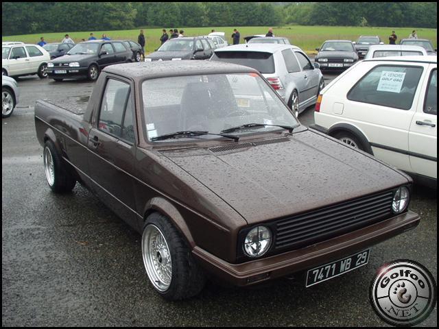 [ VW ] GOLF CADDY pick up / tolé Rudy_w11