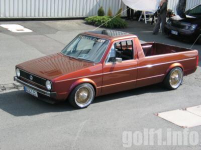 [ VW ] GOLF CADDY pick up / tolé Rudy_w12