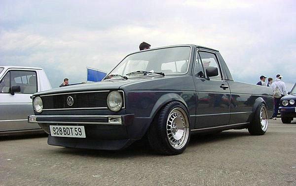 [ VW ] GOLF CADDY pick up / tolé Rudy_w14