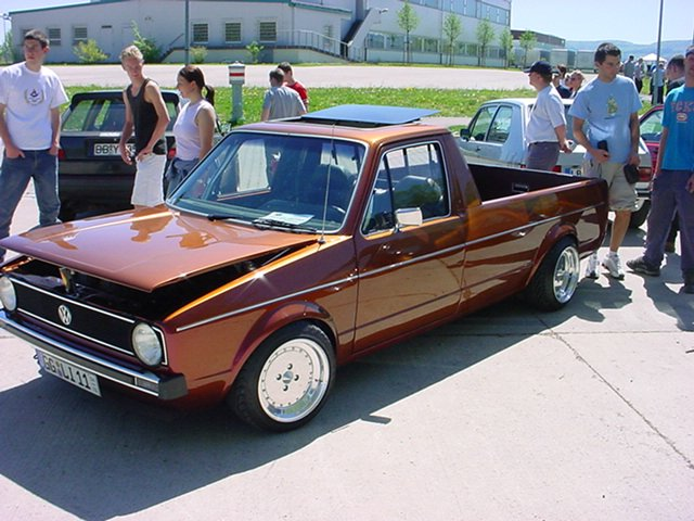 [ VW ] GOLF CADDY pick up / tolé Rudy_w15