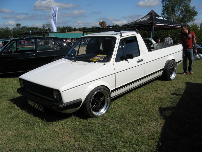 [ VW ] GOLF CADDY pick up / tolé Vwshow11