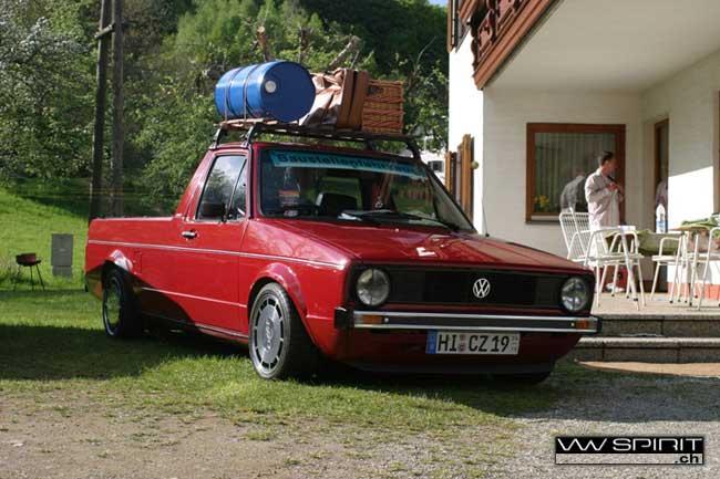 [ VW ] GOLF CADDY pick up / tolé W05t0010