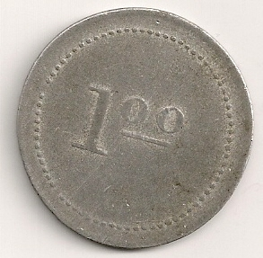 Rare Camp token during the US Occupation Manill11