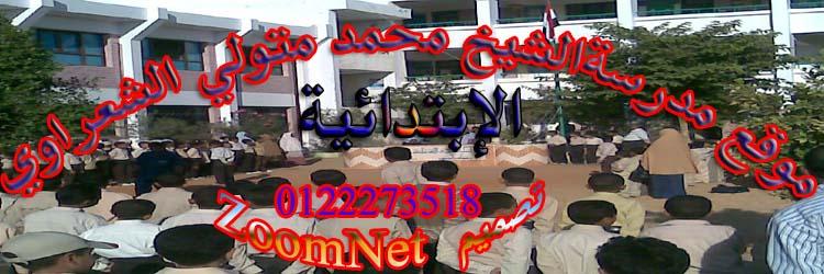 موقع مدرسة محمد متولي الشعراوي