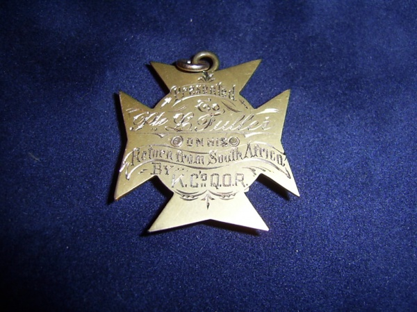 Q.O.R. of Canada - Boer War Welcome Home Medal Boer_m19